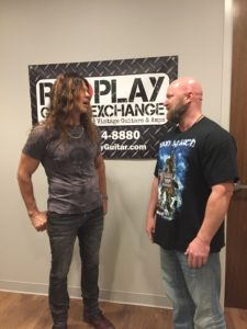 Chris Broderick and Jason Stallworth at Replay Guitar Exchange 2