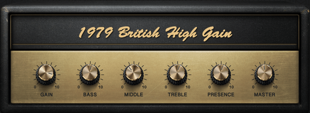 BIAS FX 2 1979 British High Gain